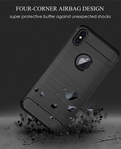 Husa Air Carbon pentru iPhone XS Max, Negru3