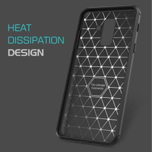 Husa Air Carbon pentru Samsung Galaxy A6 Plus (2018), Negru3