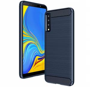 Husa Air Carbon pentru Samsung Galaxy A7 (2018), Dark Blue0