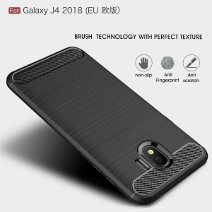 Husa Air Carbon pentru Samsung Galaxy J4 (2018), Negru1