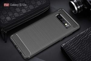Husa Air Carbon pentru Samsung Galaxy S10+, Negru3