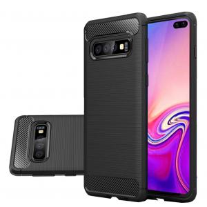 Husa Air Carbon pentru Samsung Galaxy S10+, Negru1