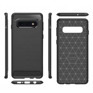 Husa Air Carbon pentru Samsung Galaxy S10e, Negru [1]