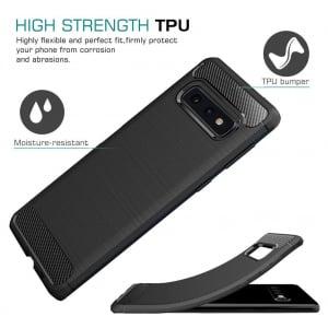 Husa Air Carbon pentru Samsung Galaxy S10e, Negru3