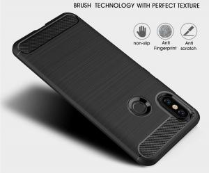 Husa Air Carbon pentru Xiaomi Mi A2, Negru2