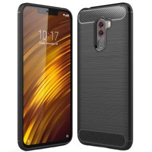 Husa Air Carbon pentru Xiaomi Pocophone F1, Negru0
