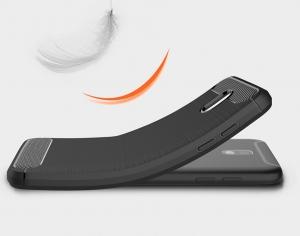 Husa Air Carbon Samsung Galaxy J3 (2017), Negru [3]