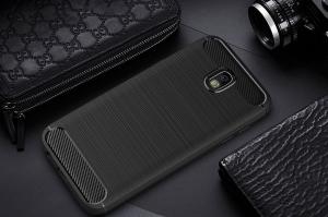 Husa Air Carbon Samsung Galaxy J3 (2017), Negru [1]