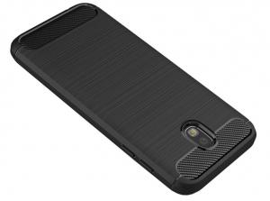 Husa Air Carbon Samsung Galaxy J7 (2017), Negru2
