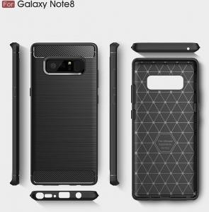 Husa Air Carbon Samsung Galaxy Note 8, Negru [2]