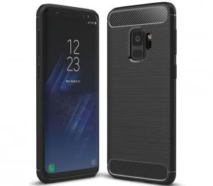 Husa Air Carbon Samsung Galaxy S9, Negru0