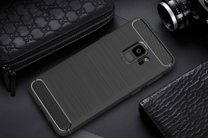 Husa Air Carbon Samsung Galaxy S9, Negru2