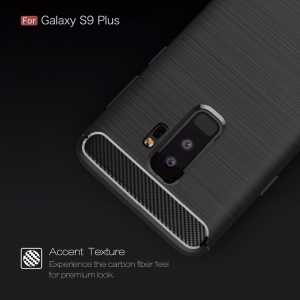 Husa Air Carbon Samsung Galaxy S9 Plus, Negru1