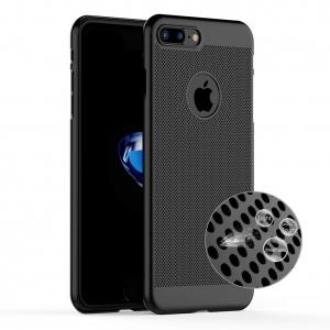 Husa Air cu perforatii iPhone 7 Plus, Negru1