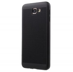 Husa Air cu perforatii Samsung Galaxy J5 Prime, Negru0