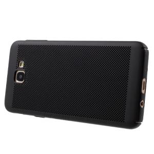 Husa Air cu perforatii Samsung Galaxy J5 Prime, Negru1
