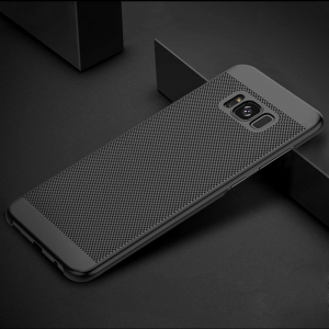 Husa Air cu perforatii Samsung Galaxy S8 Plus, Negru2