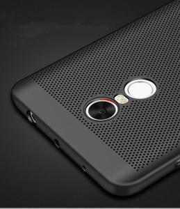 Husa Air cu perforatii Xiaomi Redmi Note 4 (Mediatek), Negru3
