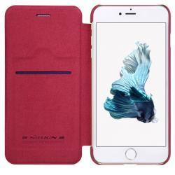 Husa Book Nillkin Qin iPhone 7 Plus, Rosu3