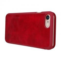 Husa Book Nillkin Qin iPhone 7, Rosu4