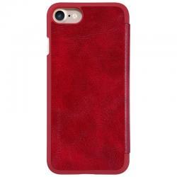 Husa Book Nillkin Qin iPhone 7, Rosu1