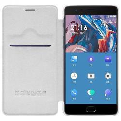 Husa Book Nillkin Qin OnePlus 3, Alb [3]
