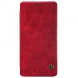 Husa Book Nillkin Qin OnePlus 3, Rosu0