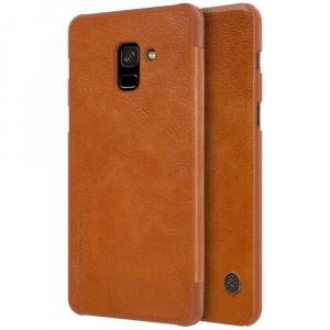 Husa Book Nillkin Qin Samsung Galaxy A8 (2018), Maro1