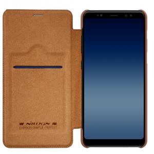 Husa Book Nillkin Qin Samsung Galaxy A8 (2018), Maro2