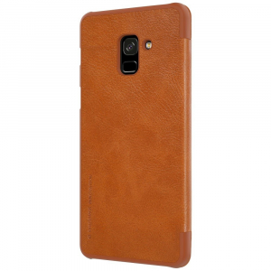 Husa Book Nillkin Qin Samsung Galaxy A8 (2018), Maro3