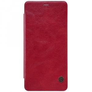 Husa Book Nillkin Qin Samsung Galaxy A8 (2018), Red [0]