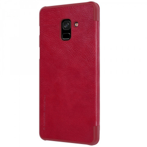 Husa Book Nillkin Qin Samsung Galaxy A8 (2018), Red2