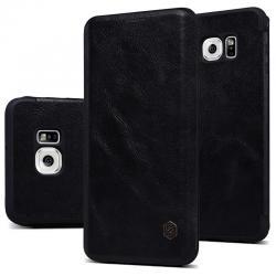 Husa Book Nillkin Qin Samsung Galaxy S6 Edge, Negru2