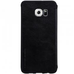 Husa Book Nillkin Qin Samsung Galaxy S6 Edge, Negru1