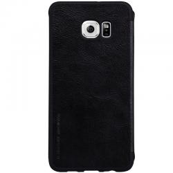 Husa Book Nillkin Qin Samsung Galaxy S6 Edge Plus, Negru [3]