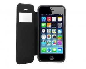 Husa Book View Mercury Goospery Wow iPhone 5 / 5S / SE, Gri2