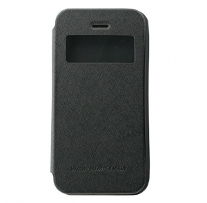 Husa Book View Mercury Goospery Wow iPhone 5 / 5S / SE, Negru [0]