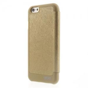 Husa Book View Mercury Goospery Wow iPhone 7, Gold1