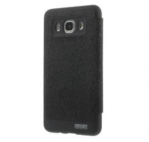 Husa Book View Mercury Goospery Wow Samsung Galaxy J5 (2016), Black1