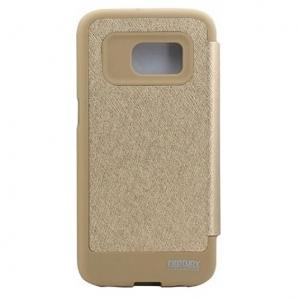 Husa Book View Mercury Goospery Wow Samsung Galaxy S7, Gold1