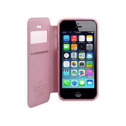 Husa Book View Roar Noble iPhone 5 / 5S / SE, Roz2