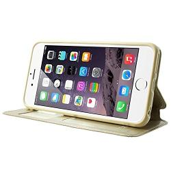 Husa Book View Roar Noble iPhone 6 / 6S, Gold3
