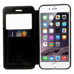 Husa Book View Roar Noble iPhone 6 Plus / 6S Plus, Negru1