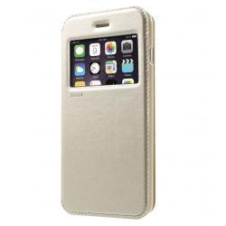 Husa Book View Roar Noble iPhone 8 Plus, Gold0