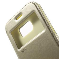 Husa Book View Roar Noble Samsung Galaxy S7, Gold4