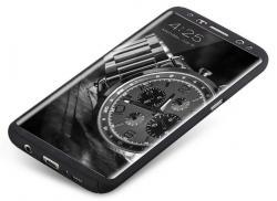 Husa Full Cover 360 (fata + spate) pentru Samsung Galaxy S8 Plus, Negru1