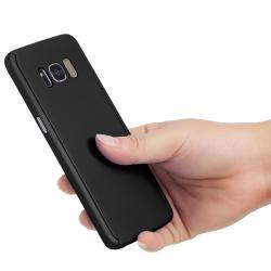 Husa Full Cover 360 (fata + spate) pentru Samsung Galaxy S8 Plus, Negru2