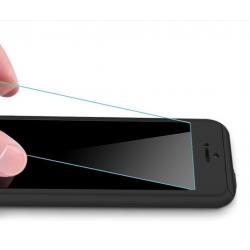 Husa Full Cover 360 + folie sticla iPhone 8, Negru1