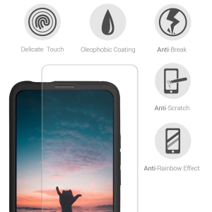 Husa Full Cover 360 + folie sticla pentru Huawei P Smart Z, Negru [3]