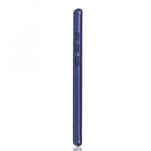 Husa Full Cover 360 + folie sticla pentru Huawei P30, Albastru3